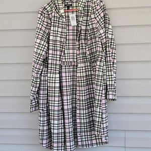 Torrid Size 1 Plaid Jacket